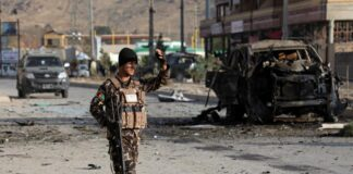 Coche bomba en Afganistán - NDV