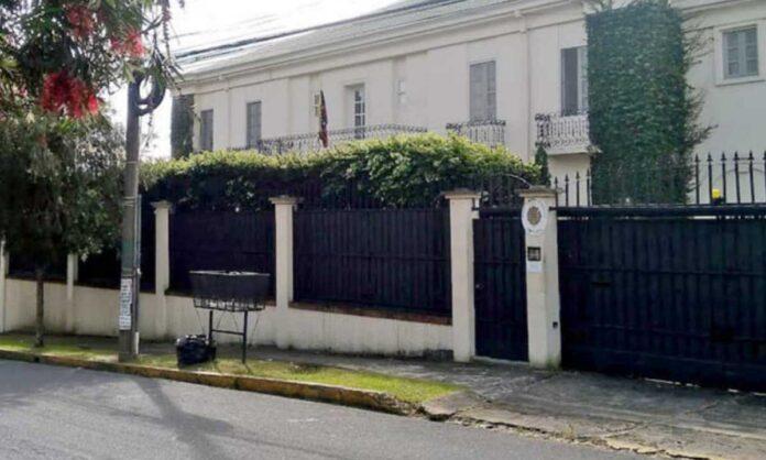 Costa Rica cerró su embajada en Venezuela