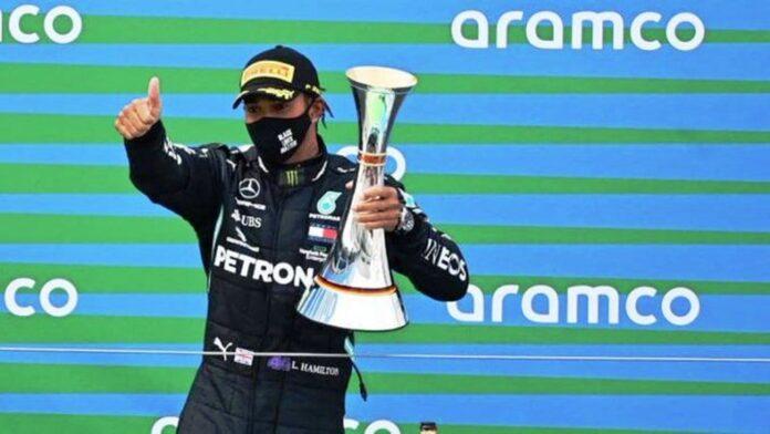 Hamilton igualó récord - NDV