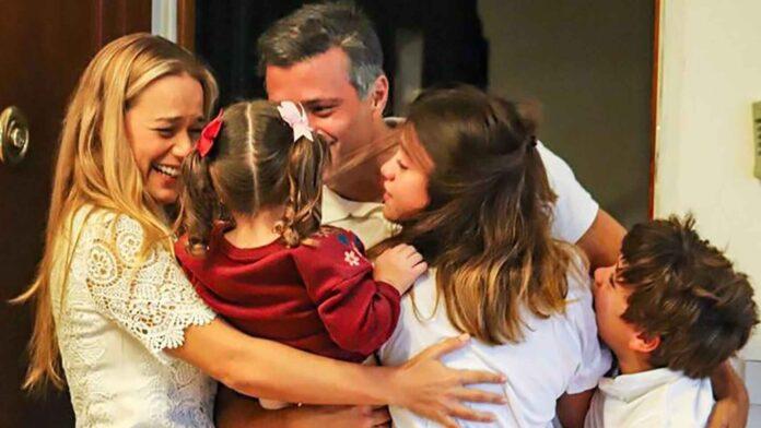 Leopoldo López llegó a Madrid - ndv
