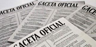 Ley antibloqueo en Gaceta Oficial