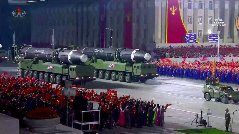 Misil intercontinental Norcoreano