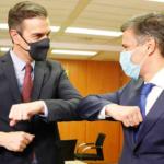 Pedro Sánchez se reunió con Leopoldo López - NDV