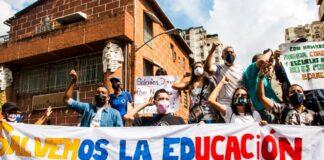 Protesta nacional de maestros - ndv