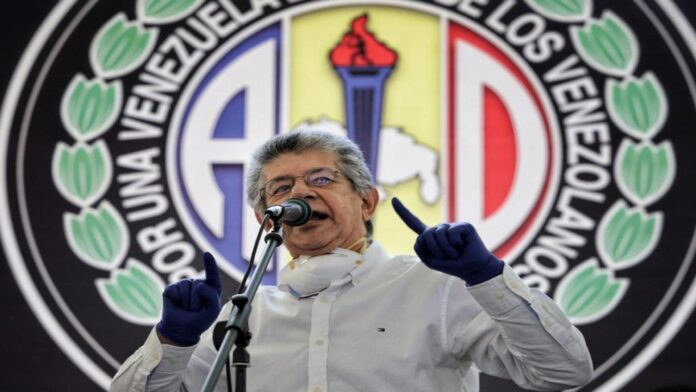 Ramos Allup desmiente sucesión- NDV