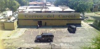Sebin allanó Correo del Caroní - NDV