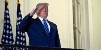 Trump regresó a su oficina - NDV