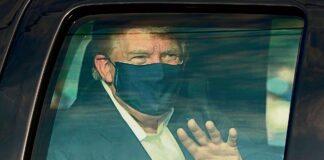 Trump salió del hospital