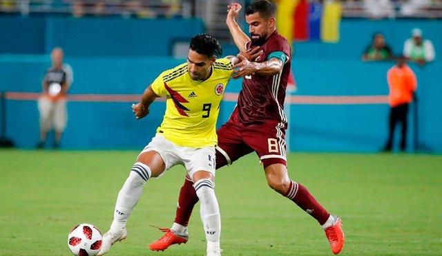 Vinotinto con 32 futbolistas enfrentará a Colombia - NDV