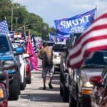 caravana anticomunista en Miami - NDV