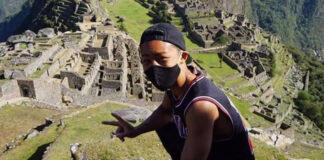 turista japonés en Machu Picchu - ndv