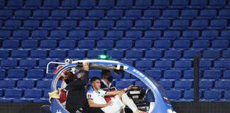 Exequiel Palacios sufrió fractura de columna - NDV