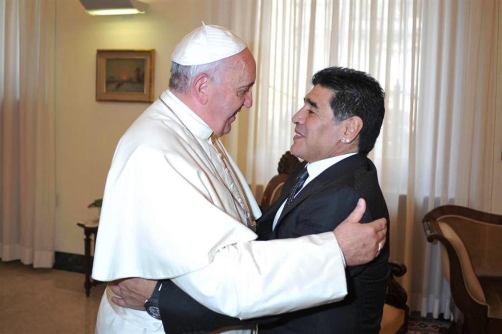 Maradona hombre mitológico - NDV