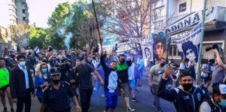 Maradona pasó con éxito intervención - NDV
