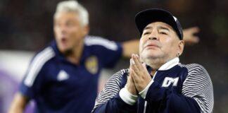 Maradona quiere abandonar el hospital - NDV