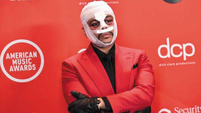The Weeknd en los AMAs - Noticiero de Venezuela