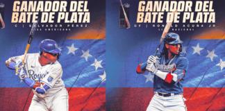 Acuña y Salvador Pérez ganaron Bate de Plata - NDV