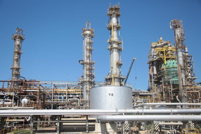 producción de gasolina en Cardón - ndv