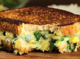 Sándwich de espinaca - NDV