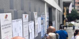 Venezolanos votan - NDV