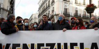 Venezolanos protestan en Madrid - ndv