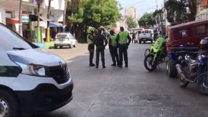 atentado con granada en Barranquilla