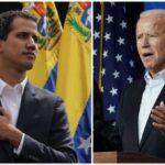 Biden reconoce a Guaidó