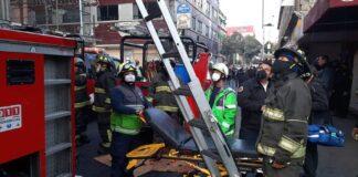Incendio en Metro de México