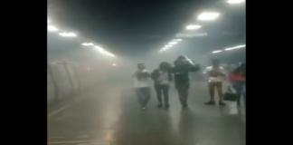 Incendio en el Metro de Caracas