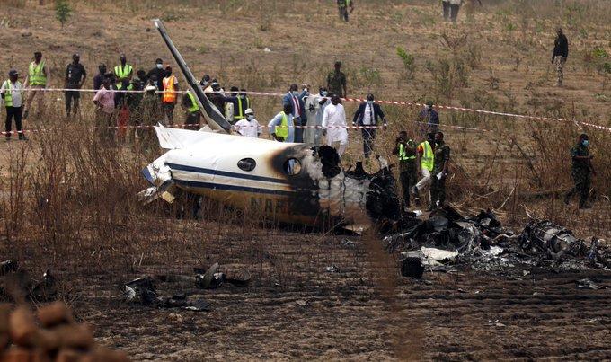 accidente aéreo en Veracruz