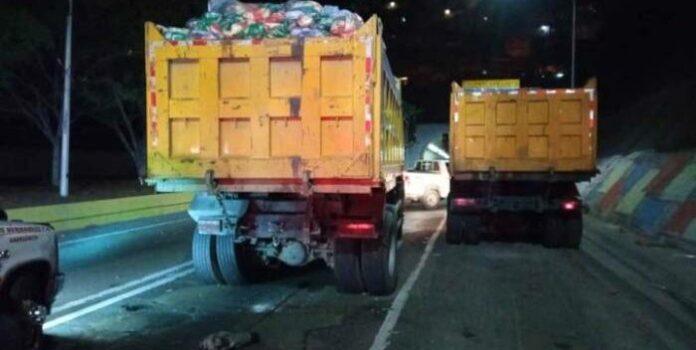 Accidente de tránsito en Caracas