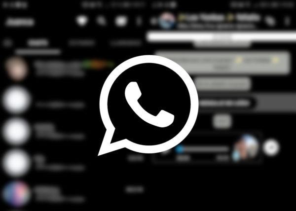Versión falsa de WhatsApp
