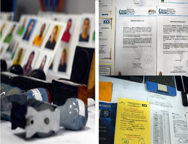 certificados falsos de PCR