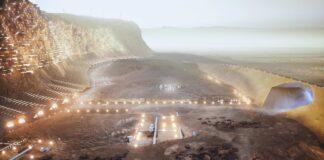Nüwa la ciudad en Marte