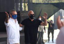Vin Diesel estudio de cine en Dominicana