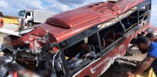 accidente en carretera cantaura