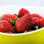 Exfoliante de fresa y azúcar