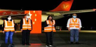 Venezuela recibió de China vacunas