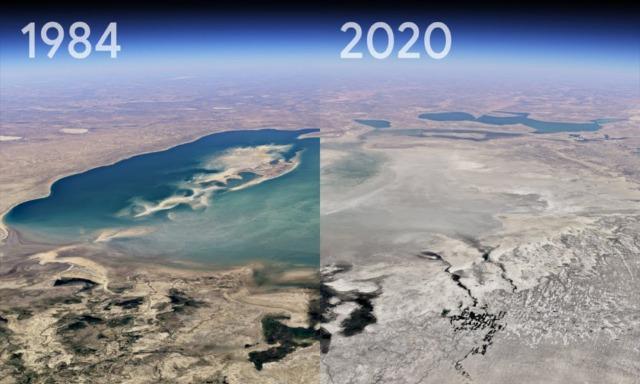 Timelapse de Google Earth
