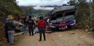 veinte fallecidos en Perú