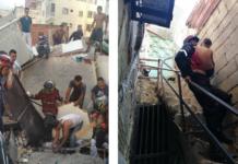 explosión de bombona en Los Erasos
