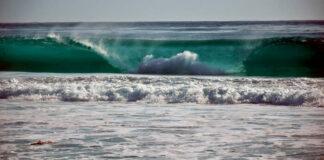 Tsunami de 40 metros