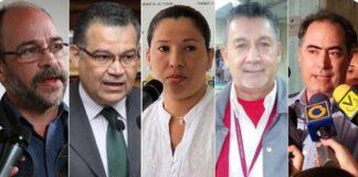 nuevos rectores del CNE-1.