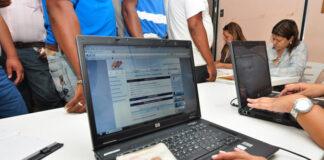 jornada especial de registro electoral en Venezuela