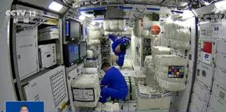 China envía astronautas al espacio