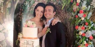 Detalles de la boda de Daniela Alvarado
