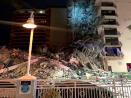 Derrumbe de edificio en Miami