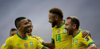 Brasil le ganó a Venezuela