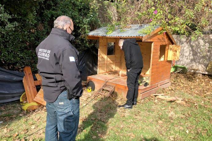 Narco construyó un búnker casita de muñecas
