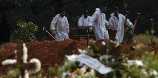 Pandemia muertos en el mundo